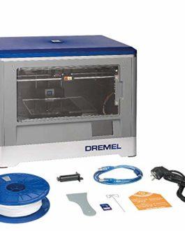Dremel 3D20 Imprimante 3D Déjà Montée avec Écran Tactile de Contrôle en Couleurs pour Filament PLA