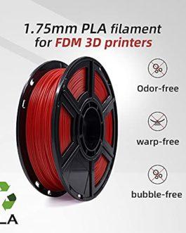 FLASHFORGE Filament d'impression 3D PLA de 1,75mm et en Bobine de 0.5 kg pour Les séries Dreamer et Finder Series (Noir)