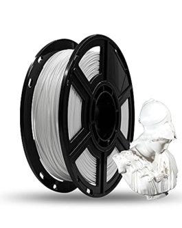 FLASHFORGE Filament d'impression 3D PLA de 1,75mm et en Bobine de 0.5 kg pour Les séries Dreamer et Finder Series (Blanc…