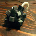 Sphère de clavier #3DPrinting #3DThursday