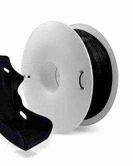 Fiberlogy Nylon PA12 + CF5 noir, 1,75 mm (± 0,02), 0,50 kg de filament renforcé de fibre de carbone de haute qualité…
