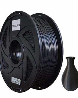 Filament ABS pour imprimante 3D Précision +/- 0,03 mm Bobine de 1 kg 1,75 mm Noir