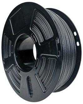 Filament d'impression 3D 1.75mm, filament de fibre de carbone PETG, ajout de 20% de fibre de carbone courte, haute…