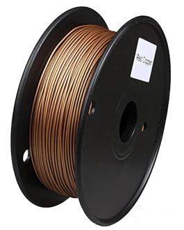 Filament d'imprimante 3D, filament à base de PLA, filament à base de métal, 1,75 mm, bobine de 0,5 kg, teneur en métal…