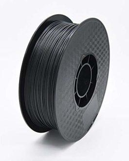 Filament d'imprimante PLA en Fibre de Carbone 3D Luxe Soyeux Lustre FDM Matériaux d'impression Consommables Noir 1,75 mm…