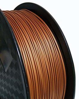 Filamentpla,3d Filament 1.75mm 3D Printer Filament 1 kg / 500g / 250g Spool Texture Métal Or Argent Cuivre Bronze…