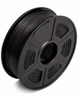 Filamentpla,3d Filament 1.75mm de l'imprimante Filament PLA 3D Diamètre Tolérance +/- 0,02 mm Couleur Noir 2.2lbs Pas de…