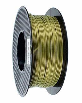 Filamentpla,3d Filament Bronze métallique PLA 1.75mm 3D Printer Filament 1 kg / 500g / 250g Spool Texture Métal Métal…