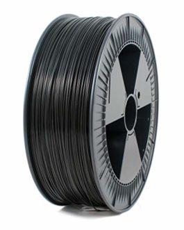 ICE FILAMENTS PLA103 PLA Filamente, 1.75mm OD, 2.3 kg, Noir