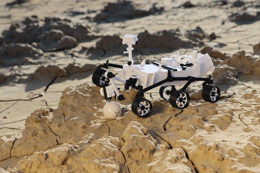 Read more about the article Perseverance Rover imprimé en 3D 🛰 #3DPrinting #NASA