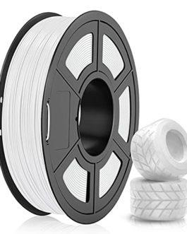 Filament TPU 1.75mm, SUNLU TPU Filament Imprimante 3D, Flexible Filament 1.75, Précision Dimensionnelle +/- 0.03mm, 0…