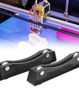 Jopwkuin Support de Bobine de Filament 2 pièces, pour imprimante 3D à Filament PLA/ABS, Support de Filament de Table…