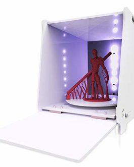 GIANTARM Geeetech Machine de durcissement UV 405 nm pour imprimante 3D en r¨¦sine SLA/DLP/LCD