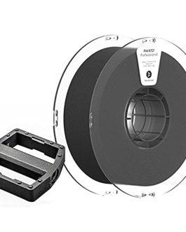 PAHT K7CF 3D Printer Filament 1.75mm, Carbon Fiber Reinforced Nylon 6 Material, Black Filament, 1kg Spool