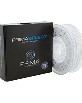 PrimaCreator PrimaSelect Filament 3D PETG, 1,75 mm – 750 g, Blanc, 12