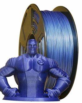 Stronghero3D Filament pour imprimante 3D PLA Galaxy Blue 1,75 mm Poids net Précision 1 kg +/- 0,05 mm pour Ender3 CR10…