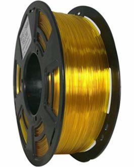 Stronghero3D bureau fdm 3d filament d'imprimante PETG jaune clair 1.75mm précision de dimension 1kg (2.2 lbs) de + / -0…