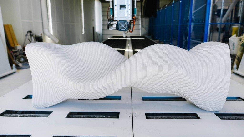 Read more about the article Le géant suisse de la chimie Sika présente une imprimante 3D pour le béton