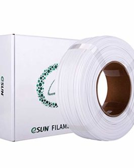 eSUN PETG Recharge de Filament 1.75mm, Imprimante 3D Filament PETG, Précision Dimensionnelle +/- 0.05mm, 1KG (2.2 LBS…