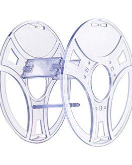 eSUN Kit eSpool, Paquet de 2 Bobine de Filament Réutilisable et Amovible, Bobine Vide PC Transparent, Support de Bobine…