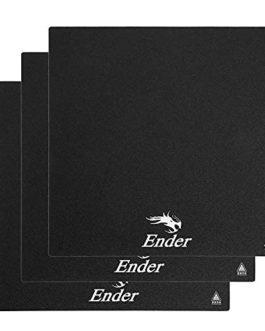 235x235mm Imprimante 3D Lit Construire Surface plaque Autocollant Feuille Chauffé pour Creality Ender 3 Pro, CR-20 Pro