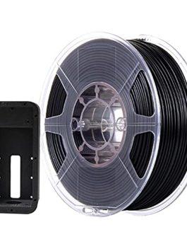 3D Printer Filament 1.75mm, Nylon-Tpu Carbon Fiber Filament, Carbon Fiber Reinforced Nylon Tpu Material, Black Filament…