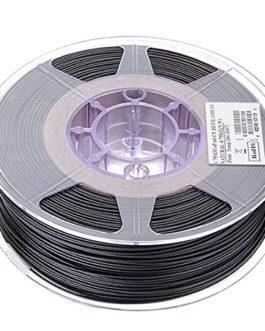 PLA Carbon Fiber Filament 1.75mm, Carbon Fiber Reinforced Polylactic Acid Material, 3D Printer Filament 1kg2.2lb Spool