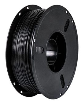 3D Printer Filament PLA Carbon Fiber Filament Carbon Fiber Reinforced Polylactic Acid Material Black Filament 1.75mm 1kg