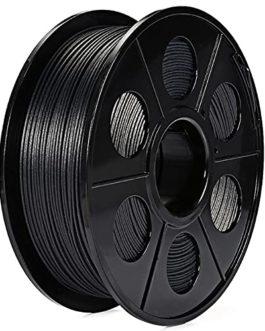 Carbon Fiber PLA Filament 1.75mm 3D Printer Filament, Dimensional Accuracy +/- 0.03 mm, 0.5kg or 1kg Spool, Really…