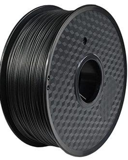 Carbon Fiber Polycarbonate 1.75mm 3D Printer Filament, Really Carbon Fiber-infill, Dimensional Accuracy +/- 0.03 mm…