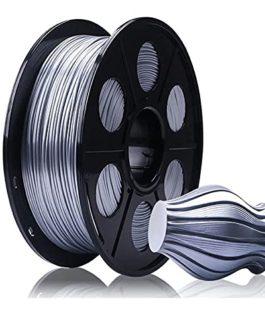 Filament Pla-Silk 1.75mm Imitation Métal High Gloss Impression 3D Filament 1 kg (2,2 lb) Précision dimensionnelle +/- 0…