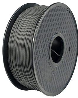 Filament de fibre de carbone PLA Filament de la fibre de carbone 1.75mm 3D Filament d'imprimante 1kg (2.2LB) Filiament…