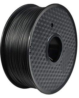 Filament en polycarbonate de la fibre de carbone PC 1.75mm 3D Filament d'imprimante 1kg (2.2LB) haute résistance élevée