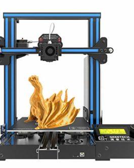 GEEETECH A10 Prusa I3 Kit de bricolage à montage rapide et facile avec zone d'impression 220 × 220 × 260 mm. Montage…