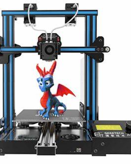 GEEETECH A10M Imprimante 3D avec prise en charge de deux couleurs, double extrudeuse, Reprise du travail en cas de panne…