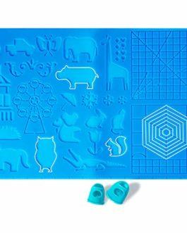 Giantarm Tableau Modèle Peinture de Stylo 3D,matériau en silicone sûr et inoffensif, avec une variété de motifs, adapté…