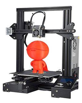 Imprimante 3D Creality Ender 3 Entièrement Open Source avec impression de CV Imprimantes DIY FDM à cadre métallique avec…