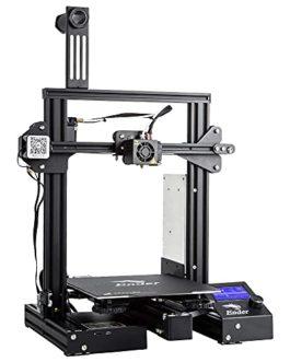 Imprimante 3D Creality Ender 3 Pro (Ender 3 améliorée) avec Alimentation Meanwell, Plaque magnétique Flexible, Travail d…