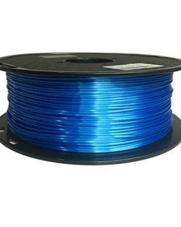 KEHUASHINA Filament PLA Silk 1,75 mm de diamètre pour imprimante 3D – Bobine de 1kg, Bleu foncé – Accessoire pour…