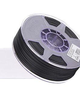 Nylon 12 Carbon Fiber Filament PA-12CF Filament 1.75mm 3D Printer Filament 1KG 2.2LBS, 85%PA12+15% Carbon Fiber