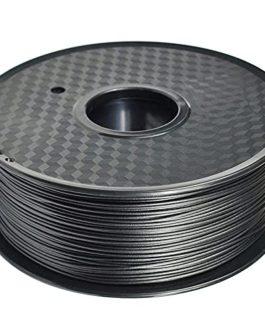 Nylon Carbon Fiber Filament 1.75mm PA-CF 3D Printer Filament Black Filament 1kg2.2lb Spool for FDM 3d Printer
