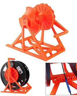 OverTop Support de filament amovible en ABS orange pour imprimante 3D Prusa I3