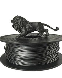 PA-CF Nylon Carbon Fiber Filament 1.75mm 3D Printer Filament 1kg2.2lb, Carbon Fiber Reinforced Nylon Material