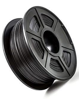 PA66-CF Nylon Carbon Fiber Filament, 3D Printer Filament, Carbon Fiber Reinforced Nylon Material, Black, 1kg2.2lb Spool