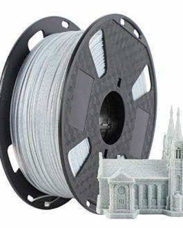 PETG Filament pour imprimante 3D marbre 1,75 mm Précision dimensionnelle +/- 0,02 mm Bobine de 1 kg