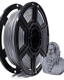 PLA Metal Filament 3D Printer Filament Metal Powder Filled Polylactic Acid Material, 1.75mm, 0.5kg (1.1lb) Spool…
