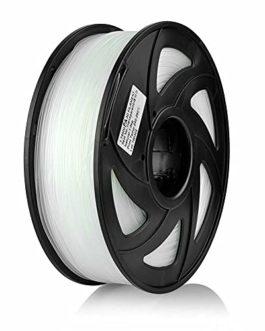 S SIENOC Filament PETG pour imprimante 3D Imprimante 3D PETG Filament 1,75mm 3D Imprimante Filament Bleu Transparent 1KG…