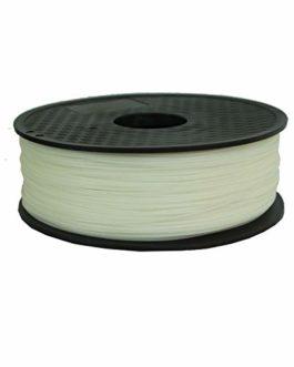 XIAOLUTIANM Accessoires d'imprimante 0,5 kg 1.75mm PVA Soluble dans l'eau Filament for la 3D Imprimantes Poignées en…