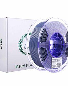 eSUN Filament PETG 2.85mm, Imprimante 3D Filament PETG, Précision Dimensionnelle +/- 0.05mm, 1KG (2.2 LBS) Bobine…