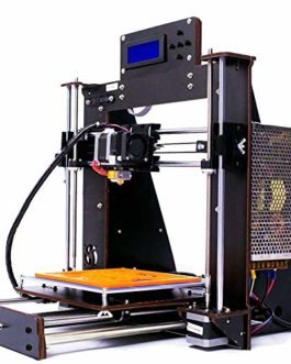 win-tinten Imprimante 3D Prusa i3 Reprap MK8 Extrudeuse MK3 Heatbed LCD DC12V / 24V 1.75mm PLA